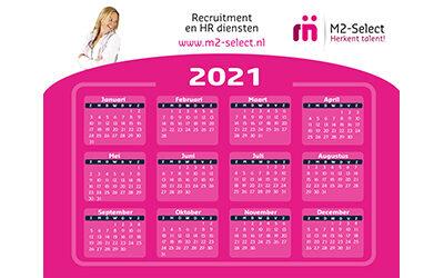 Veel werkplezier in 2021!